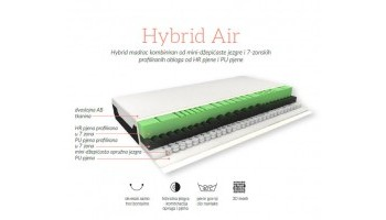 Madrac Hespo Hybrid Air